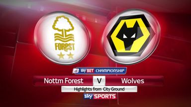 Nottingham Forest 1-1 Wolves