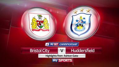 Bristol City 4-0 Huddersfield