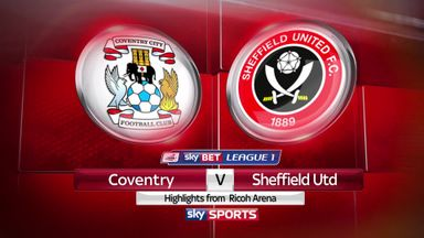 Coventry 3-1 Sheffield Utd