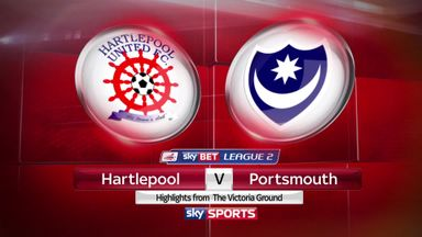Hartlepool 0-2 Portsmouth