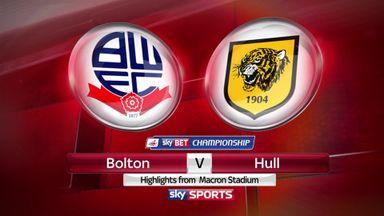 Bolton 1-0 Hull