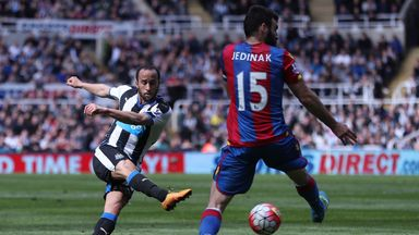 Andros Townsend fired Newcastle to victory
