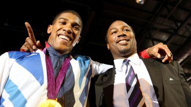 Lennox Lewis says Anthony Joshua is 'closing the gap' on Tyson Fury