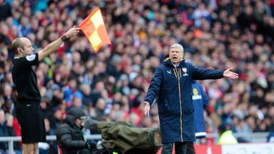 Arsene Wenger has defended his record at Arsenal