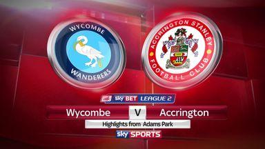 Wycombe 0-1 Accrington