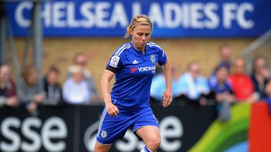 Gilly Flaherty scored as Chelsea Ladies recorded a third successive win