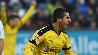 Henrikh Mkhitaryan is out of contract at Borussia Dortmund in 2017