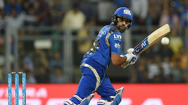 Rohit Sharma led the way as Mumbai Indians secured victory