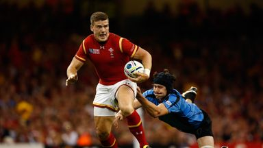 Wales centre Scott Williams makes his comeback from injury