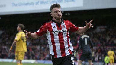 Scott Hogan scored five goals in April after 19 months out