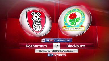Rotherham 0-1 Blackburn