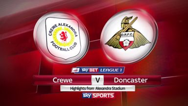 Crewe 3-1 Doncaster