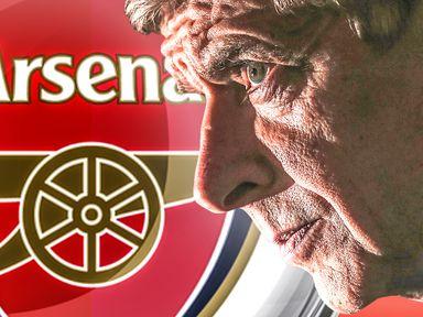 Gunners boss Arsene Wenger was on the defensive again