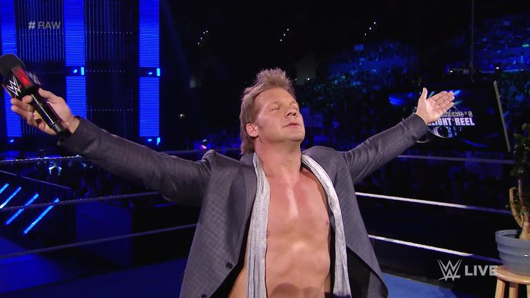 Image result for chris jericho drink it in gif