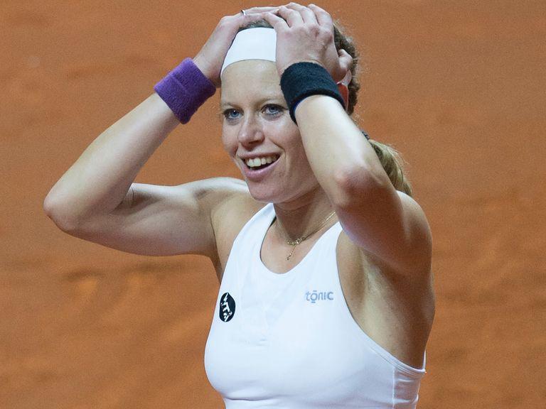 Laura Siegemund stuns Agnieszka Radwanska to set up Stuttgart final ...