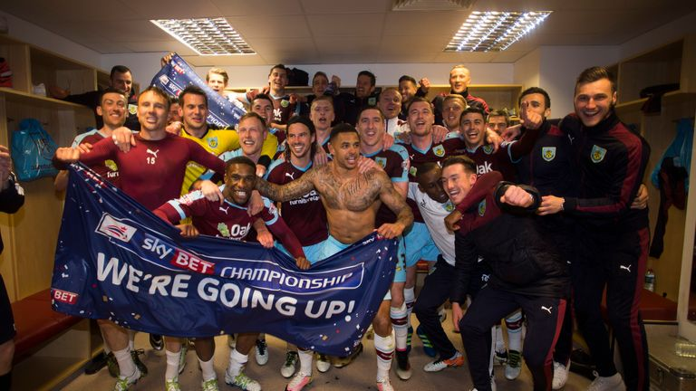 Burnley have already celebrated promotion after beating QPR (Mark Robinson/Sky Bet)