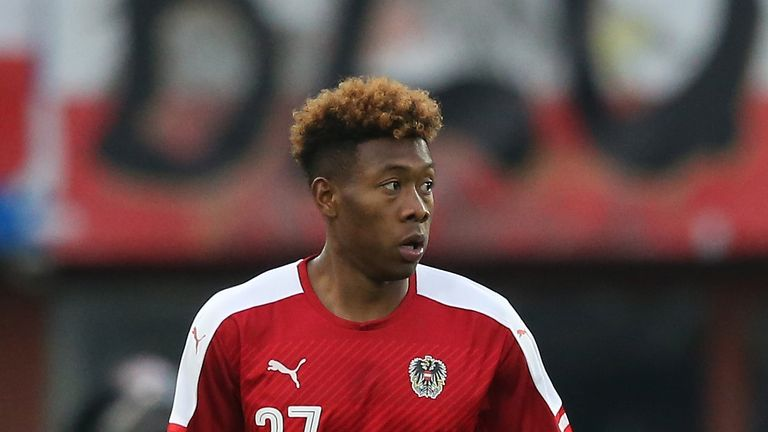 David Alaba failed to help Austria qualify out of Group F