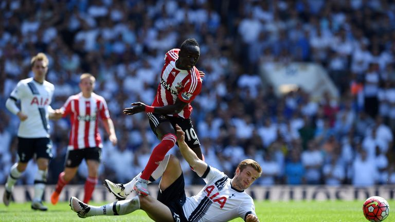 Southampton shocked Tottenham with a 2-1 win at White Hart Lane