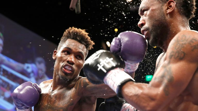 Jermall Charlo in action against Austin Trout last May