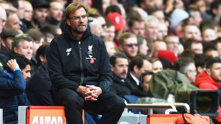 Liverpool boss Jurgen Klopp is expected to rest players