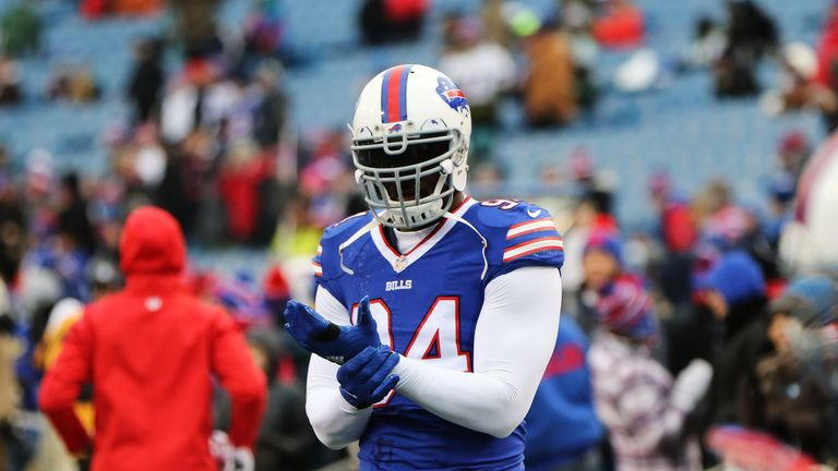 Mario Williams joined the Dolphins after four seasons with the Buffalo Bills