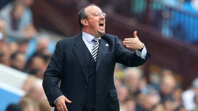 Rafael Benitez has held talks over his future