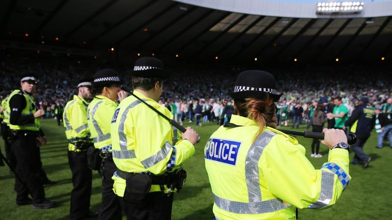 Warburton insists he has no security concerns ahead of Rangers' first visit to Hampden since May's Scottish Cup final