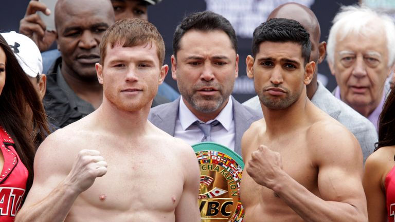 Khan made a shock decision to fight Saul 'Canelo' Alvarez in May 2016