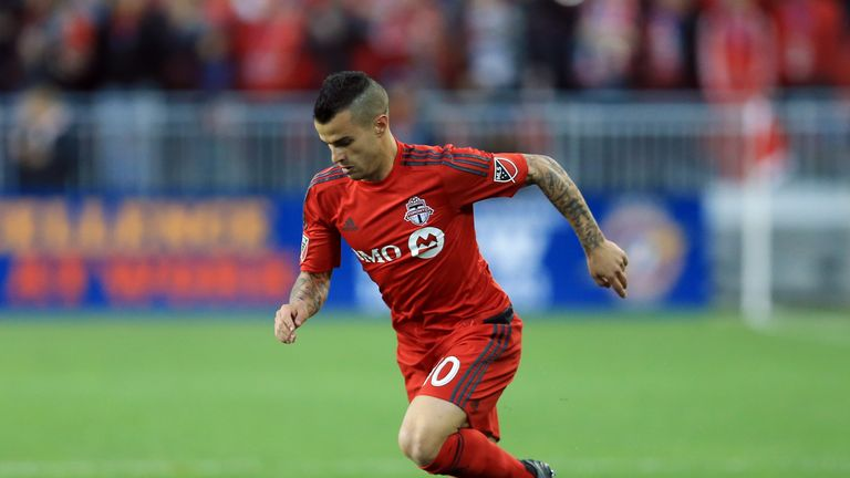 Sebastian Giovinco is second on the list of MLS high earners, ahead of his Toronto FC team-mate Michael Bradley