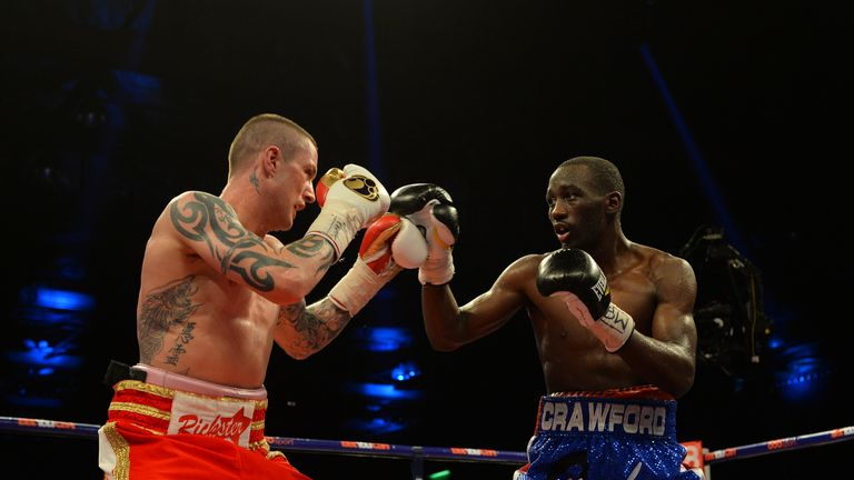 Crawford won a unanimous points decision over Burns in Glasgow in 2014