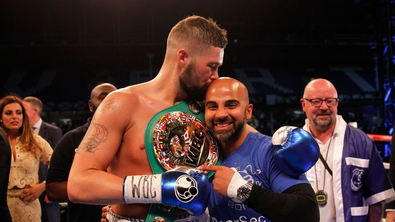 Tony Bellew is impressed with both and trainer Dave Coldwell will be watching on