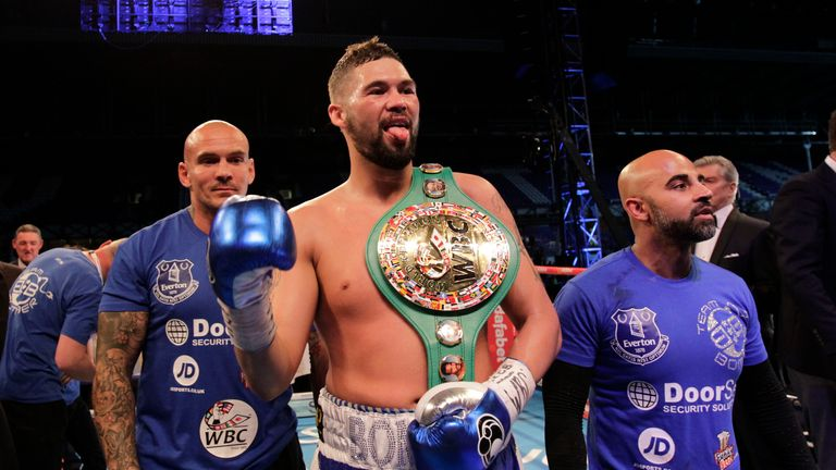 Tony Bellew is defending his WBC world title in Liverpool on October 15