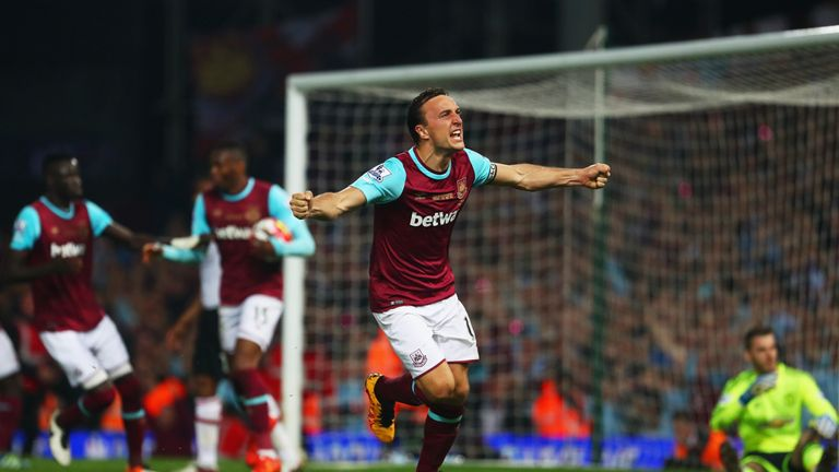West Ham beat Manchester United in midweek