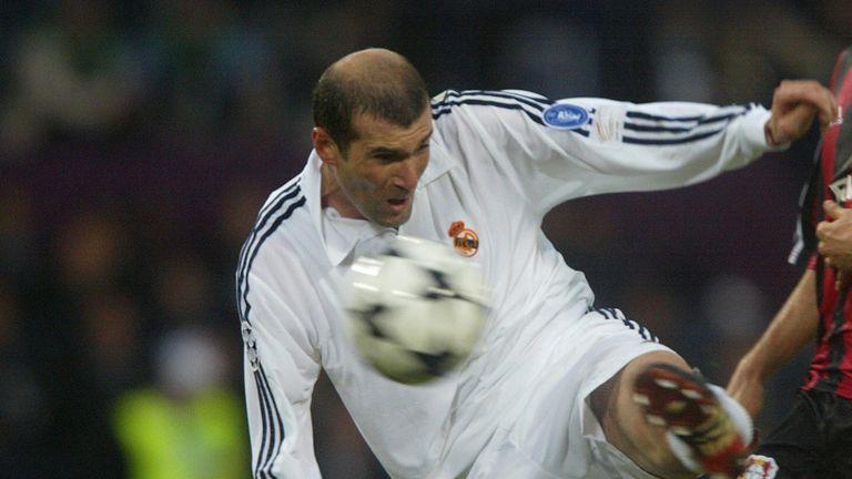 Zinedine Zidane's left-footed volley won the 2002 final against Leverkusen