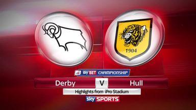 Derby 0-3 Hull