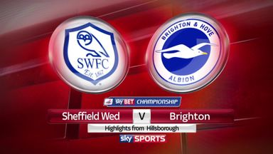 Sheff Wed 2-0 Brighton