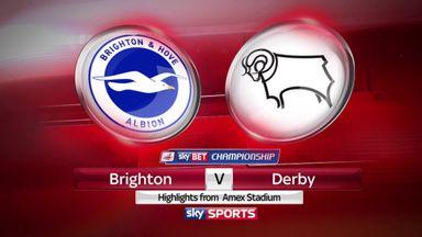 Brighton 1-1 Derby