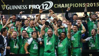 Connacht were Guinness Pro12 champions last season