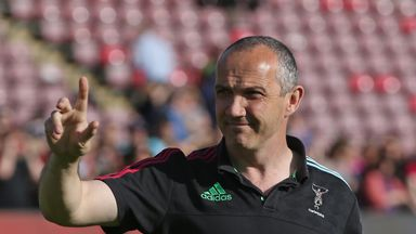 Conor O'Shea is determined to make Italy more successful under his stewardship