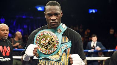 Deontay Wilder is expected to defend his WBC belt before the end of the year