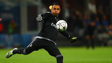Keylor Navas of Real Madrid in action during the UEFA Champions League final