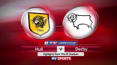 Hull 0-2 Derby (3-2 agg)