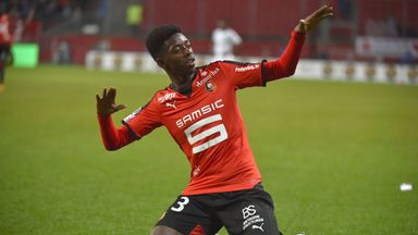 Ousmane Dembele won the Ligue 1 Young Player of the Year award