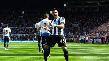 Aleksandar Mitrovic could start for Newcastle