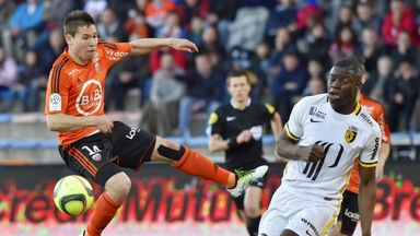 Raphael Guerreiro in action for Lorient