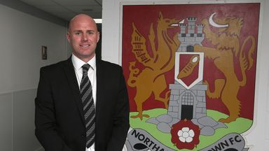 Rob Page: Adds Harry Beautyman to his Northampton squad