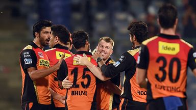 How did reigning IPL champions Sunrisers Hyderabad fare in this year