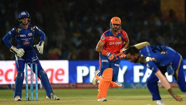 Suresh Raina scored 58 from 36 balls from Gujarat Lions