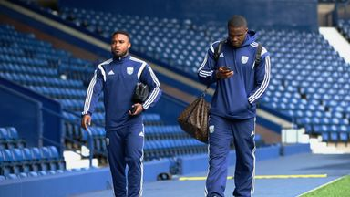 Victor Anichebe (right) and Stephane Sessegnon will not be offered new deals