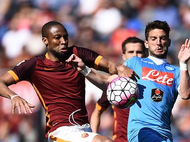 Antonio Rudiger (l): Has joined Roma on a permanent deal